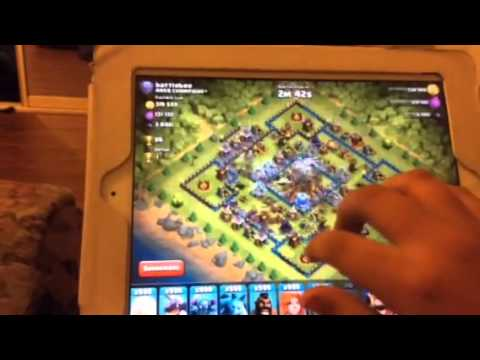 Clash of clans awesome glitch unlimited troops and attacking number one player