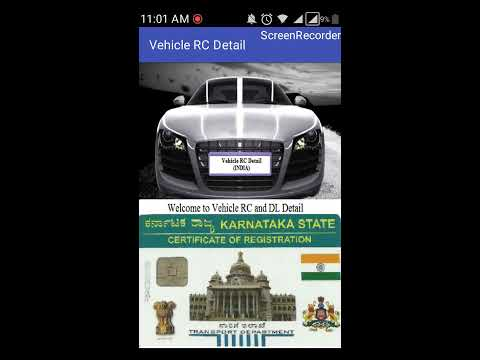 How to Search Vehicle Registration (RC) Detail in india