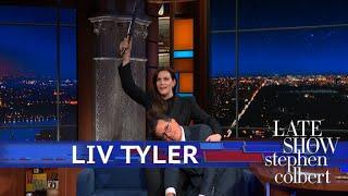 Liv Tyler Makes Stephen