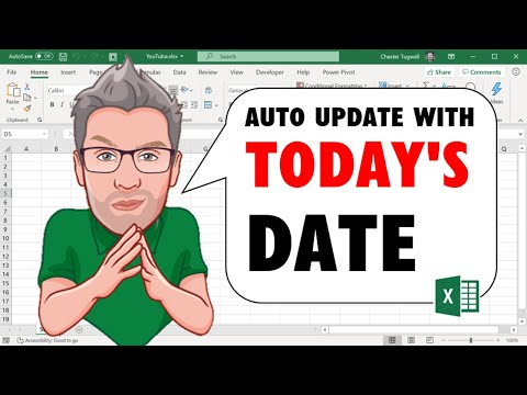 Excel's TODAY Function: Auto Update your Worksheet with Today's Date