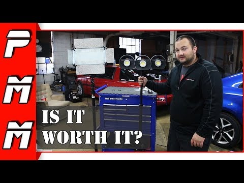 Is this the ultimate work light setup?! Eastwood Modular LED Light System