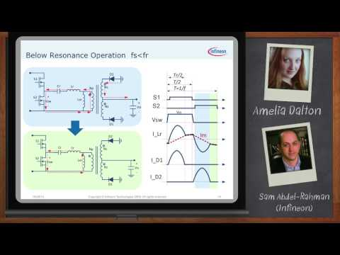 Developing Clean Efficient Power with LLC Resonant Converters with Infineon