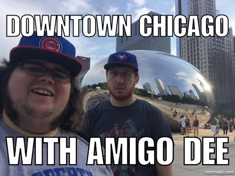 Exploring Downtown Chicago With Dee of DeeDave | Jerps93