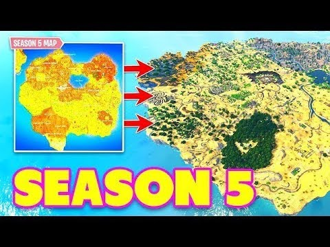 SEASON 5 *NEW* MAP CHANGES Early INTEL for Fortnite: Battle Royale