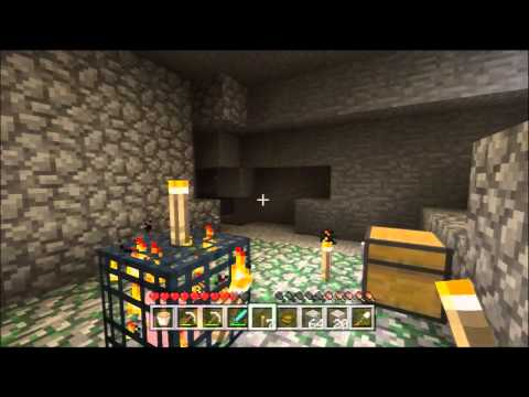 Minecraft Xbox 360 1.8.2 #9 - How To Get Rid of Lava (Pro Tips)