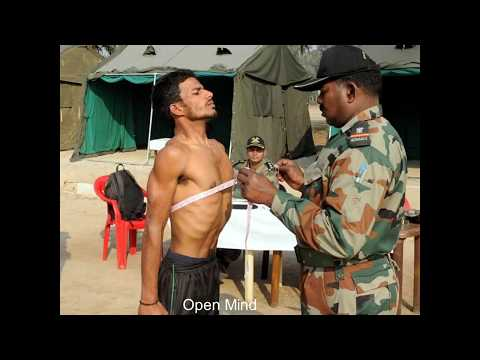 indian armed process physical standard to medical assistant