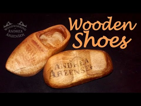 How to make Mini Wooden Shoes - Ep 022