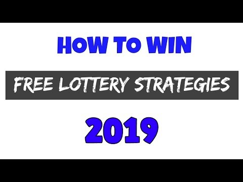 Lottery Strategies That Work 2018