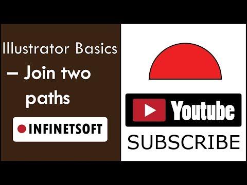 Illustrator Basics   Join two paths