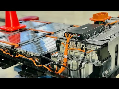 2017 Chevrolet Bolt EV Battery Disassembly
