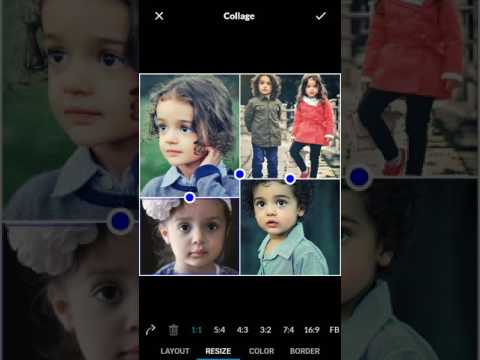 Make photo collage using LightX Photo Editor for Android