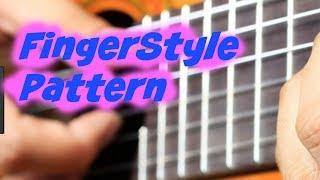 3 minute guide to the number 1 finger style (fingerpicking pattern) Beginner