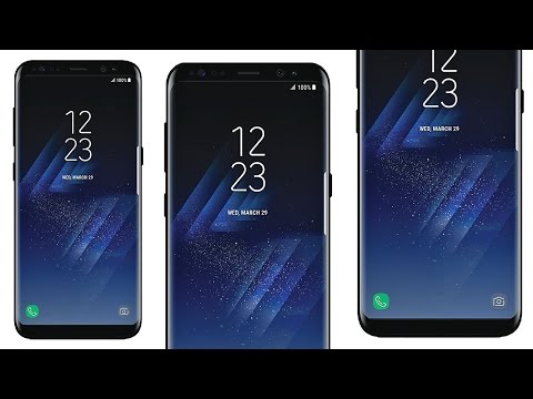 SAMSUNG GALAXY S8 FINAL PICTURES! (official presentation photos)