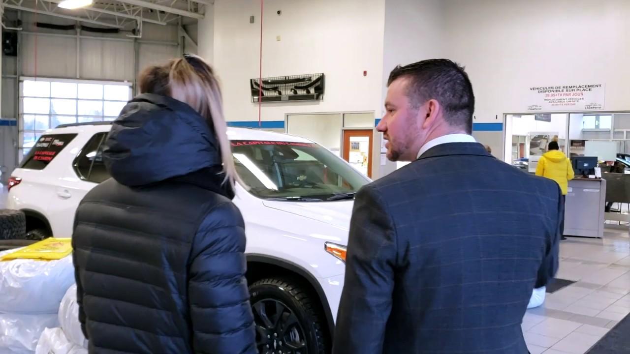 Marie-Philip Poulin chez Chevrolet Buick GMC de L'Ile Perrot