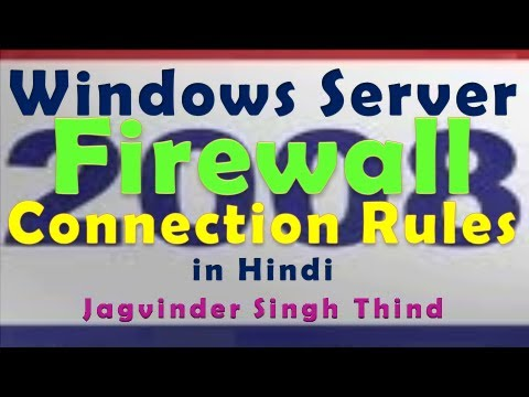 Windows Firewall Connection Security Rules in Windows Server 2008