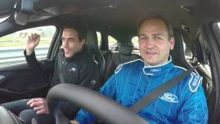 "Focus RS Drive Modes Demonstrated By Ben ""Stig"" Collins - FULL VIDEO"