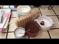 Cooking - Tiramisu, yogurt and strained yogurt