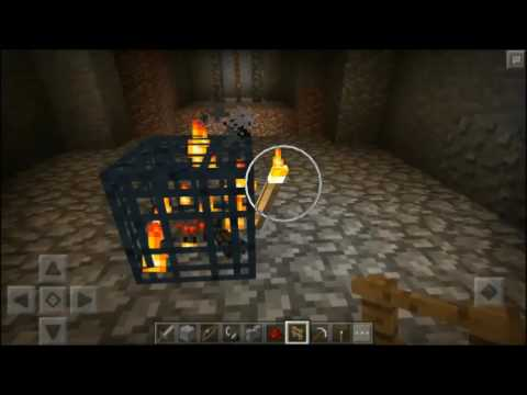 Minecraft PE Tutorial: How to build a Spider XP farm