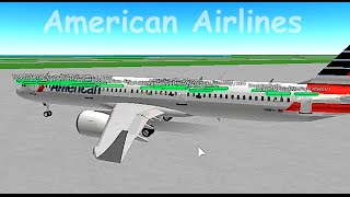 Roblox American Airlines Flight Playithub Largest Videos Hub