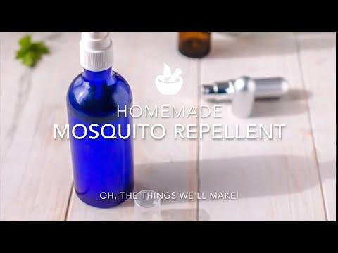 Homemade Mosquito Repellent Spray Recipe