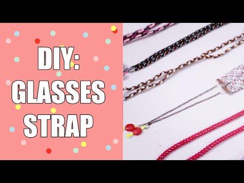 DIY GLASSES STRAP