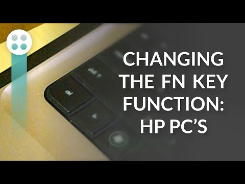 Changing the FN Key Function - HP PC's