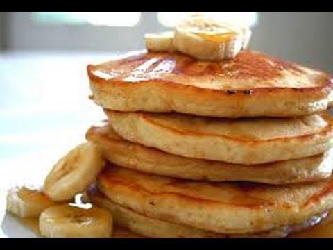 How To Make 2 Ingredient Banana Pancakes!