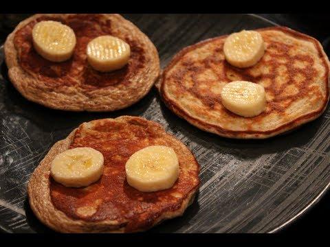 ★ EASY to Make Protein Pancakes (No Oats or Flour, Gluten-Free)