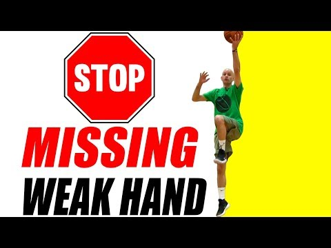 MASTER Weak Hand Layups IN 2 DAYS For Kids & Beginners! Basketball Drills