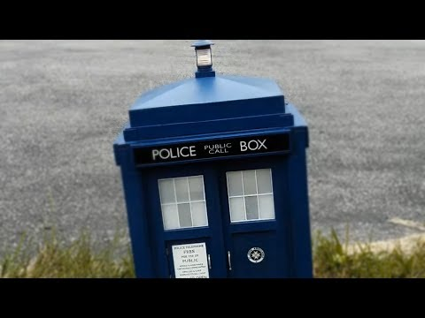 1:6 TARDIS Replica Landing's  Testing .