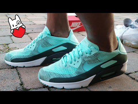 Nike Air Max 90 Ultra 2.0 Flyknit Infrared On feet and review!