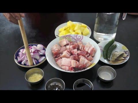 Adobo Baboy Recipe - Pinoy Filipino Pork
