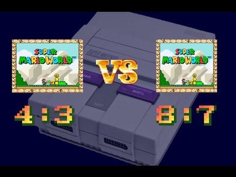 Super Nintendo Aspect Ratio