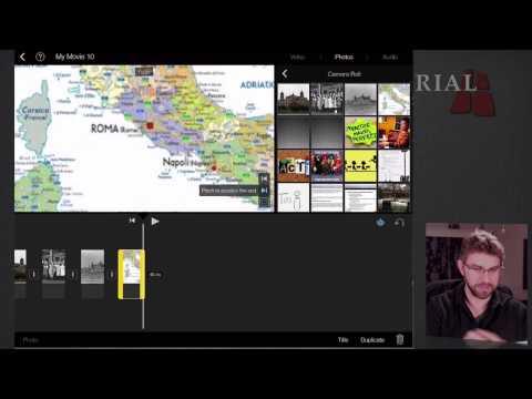 Editing in iMovie on iPad