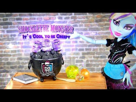 Monster High Special: Doll Food | Shocklette Monster - Doll Crafts