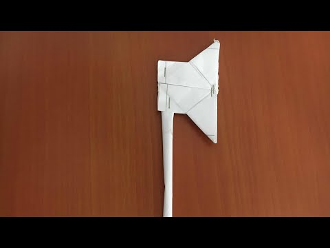 Axe making by paper | DIY | Origami