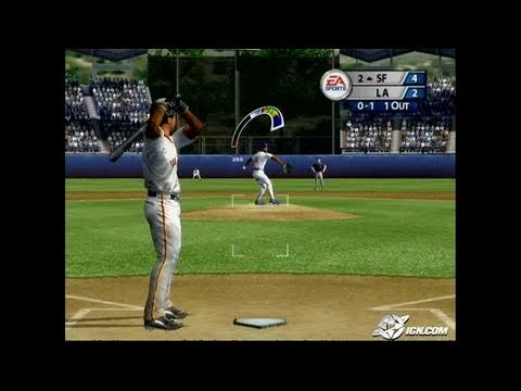 MVP Baseball 2005 GameCube Gameplay - Pitch me this, I say.