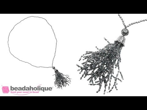 How to Make a Tassel of Beaded Coral