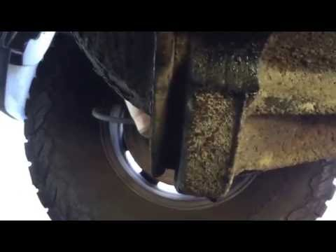 2005 Chevy 2500 hd rear differential oil change