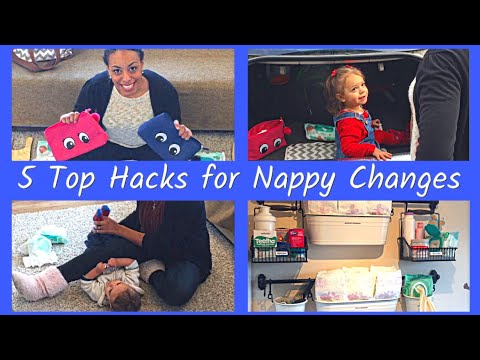 Top 5 Hacks for Nappy Changes