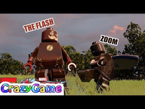 LEGO The #Flash vs Zoom Free Roam in #LEGO MARVEL's Avengers MOD