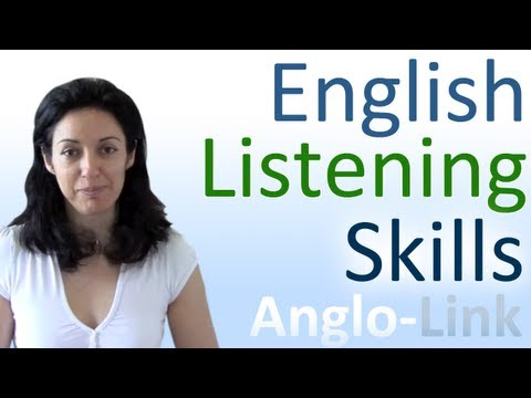 Learn English Listening Skills - How to understand native English speakers