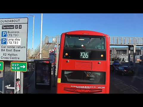 Full Route Visual~423: Hounslow Bus Station - Heathrow Terminal 5
