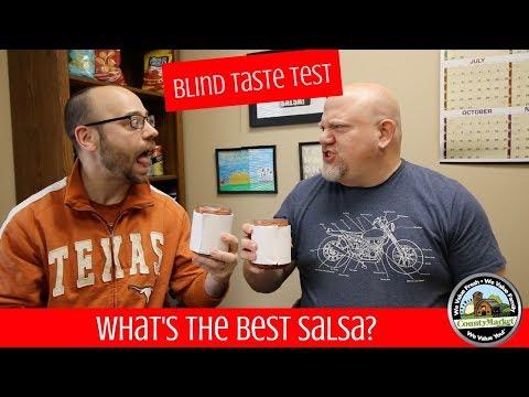 What's the Best Salsa? Blind Taste Test