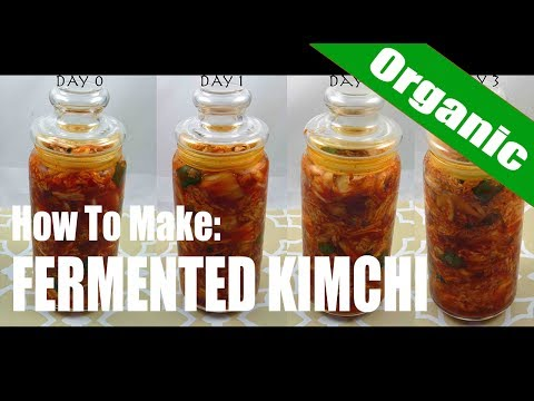 How To Make Probiotic Fermented Kimchi
