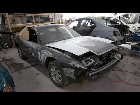 Nissan Silvia S13 Hatchback LS3 V8 Build Project