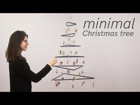 THE Minimal Christmas Tree  - It Floats! -  DIY
