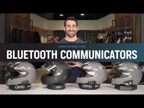 Best Motorcycle Bluetooth 2018 at RevZilla.com