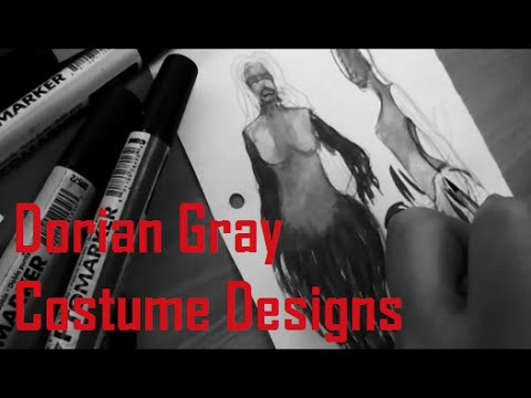 Doppelganger Productions - Dorian Gray: Costume Designs with Marie - Part 3!