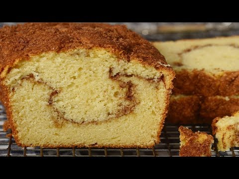 Cinnamon Swirl Coffee Cake Recipe Demonstration - Joyofbaking.com